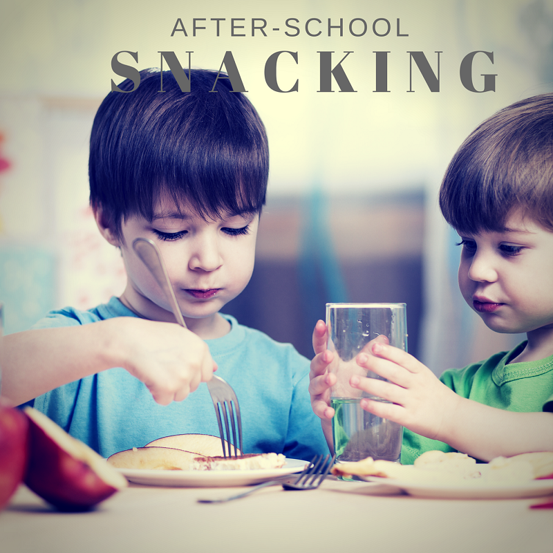 After-school snacking